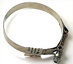 Strap For Alternator/Generator, t-bolt style, stainless steel 12v