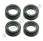 Bushings, spring plate, Type 2 rear (TORSION BUSHINGS)(SET OF 4)