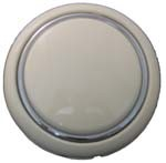 Horn Button, Bus - to ' 67 (SILVER BEIGE) (2-14)