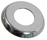 CARGO DOOR or FRONT DOOR HANDLE (Escussion)COLLAR, Inner, Polished SS -->67 (3-10)