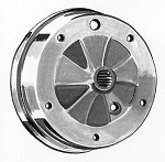 Brake Drum REAR Early T-3 63-65