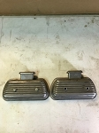 NOS Vintage Bolt on Valve Covers w/ Breathers
