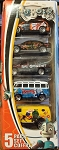 Matchbox ROBOTS Set of 5 W/ Bus
