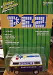 Johnny Lightning PEZ VW BUS Paddywagon 2001 (Only 6,000 Made)