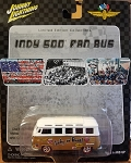 Johnny Lightning INDY 500 FAN BUS Limited Edition 2002 GOLD