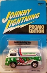 Johnny Lightning (SMOOTH WHEELS) EMPI Holiday Bus (Only 3750 Made) Promo Edition 2001