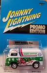 Johnny Lightning (SPOKE WHEELS) EMPI Holiday Bus (Only 3750 Made) Promo Edition 2001