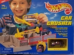 Hot Wheels CAR CRUSHER (With VW Beetle Plain Paint)