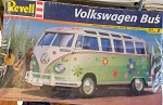 REVELL VW Bus Model (Flower Power) Skill Level 2 1:24 Scale