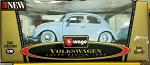 Burago (Made in Italy) Powder Blue 1955 Bug 1:18 Scale