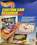 Hot Wheels CUSTOM CAR DESIGNER (CD ROM)(White Drag BUS)
