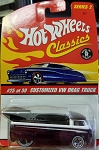Hot Wheels Classics Customized VW Drag Truck (Purple) 2005
