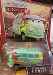 Disney Pixar CARS Movie Fillmore VW Bus (PIT CREW MEMBER FILLMORE)