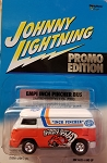 EMPI INCH PINCHER BUS Johnny Lightning Promo Edition 2001 SPOKE WHEELS