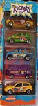 Matchbox 2000 RUGRATS (Purple Bus) 5 Pack