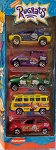Matchbox 2001 RUGRATS (Yellow Bus) 5 Pack