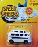 Speed Wheels  High Roof Bus WHITE