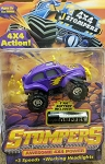 STOMPERS 4 X 4 Action PURPLE BAJA BUG (RARE) 1997 (ROCK BACKGROUND)