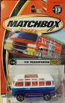 Matchbox VW TRANSPORTER HIGHWAY HEROS #12 of 75