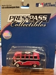 BOSTON RED SOX VW Bus 1:64 Die Cast (PRESSPASS) Official MLB