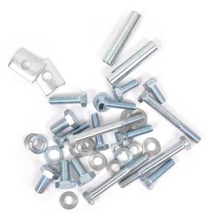 Bumper Bolt Kit - 1959-1967 Bus FRONT (B25)