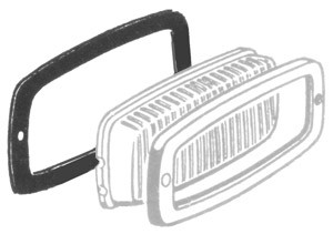 Center Brake Light Seal  -->58 Bus (4-6)