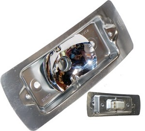 Bulb Holder for Turn Signal Lens, U.S. Double Contact, Bus's '68-'72 (B34) (EACH)