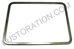 Pop Out Window Frame, Raw Metal, -67 Bus, EACH