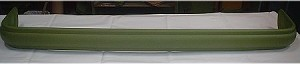 STEEL ribbed truck rear bumper 1954 to 1958 truck