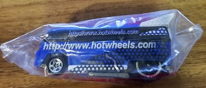 HOT WHEELS BLUE & WHITE VOLKSWAGEN DRAG BUS LIMITED EDITION HOT WHEELS.COM (1995) ***SOLD***