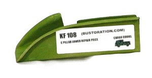 KF 108L - C Pillar Lower Repair Piece (left side cargo doors)*** ORDER DIRECTLY FROM KLASSIC FAB.COM***