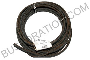 Fuel Hose, Black (SOLD BY THE FOOT) 2.5X5mm