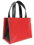 Purse Red Black Vinyl (Seat Bag 1952-1955 Red)