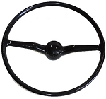 Steering Wheel, New With Horn Button, Bus '68 - 3-'74
